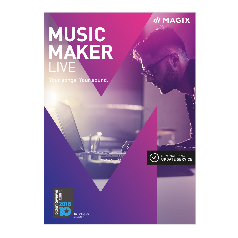 MAGIX Music Maker 2017 Live [Download] by MAGIX