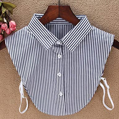 Camisa de encaje falso cuello para mujer de ATUCCO con cuello falso Y502, G, Estados Unidos: Amazon.es: Ropa y accesorios