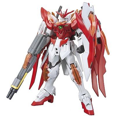 Bandai Hobby HGBF Wing Gundam Zero Flame (Honoo) Gundam Build Fighters Model Kit, 1/144 Scale: Toys & Games