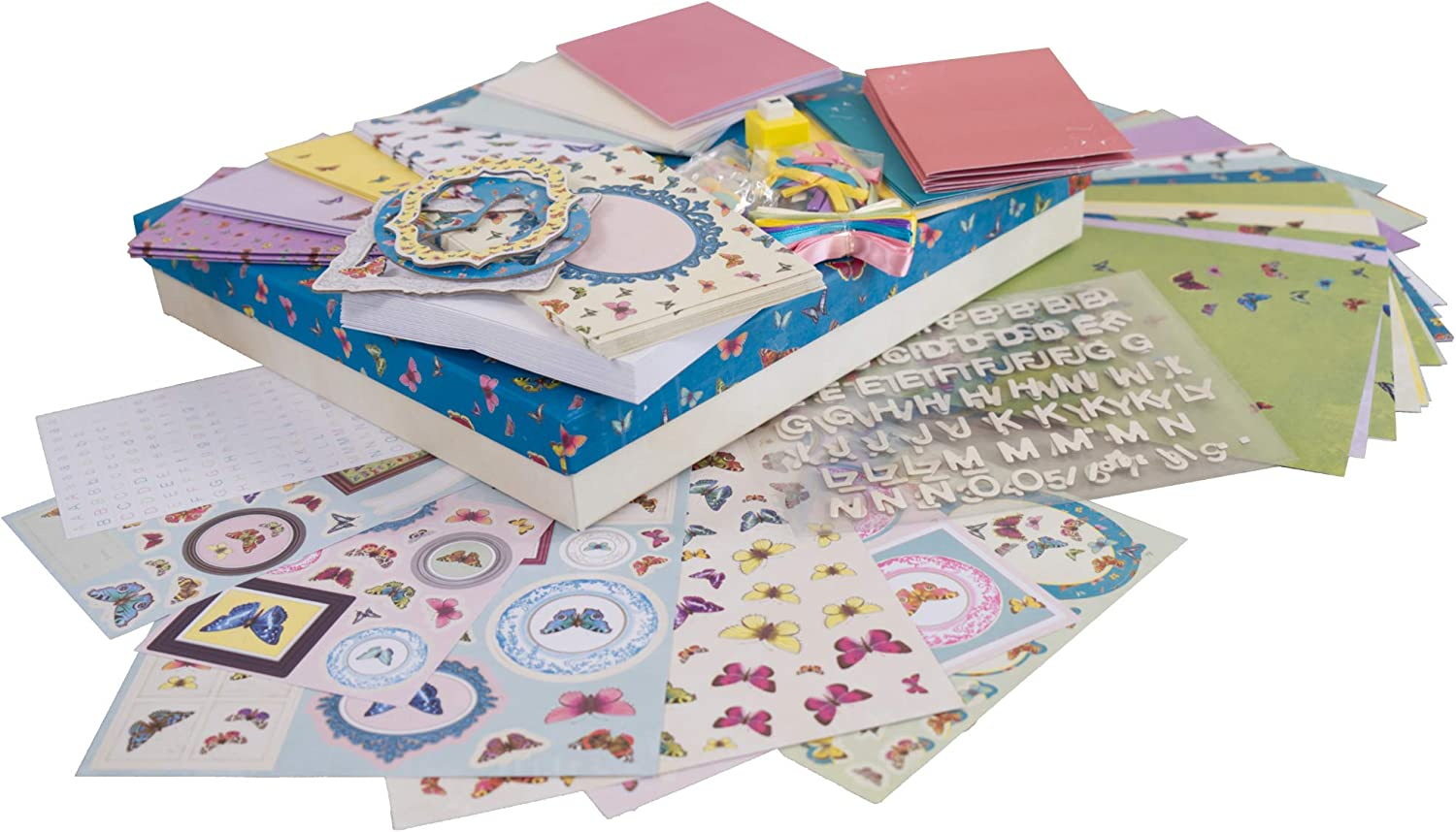 docrafts Butterfly Dreams Cardmaking Compendium