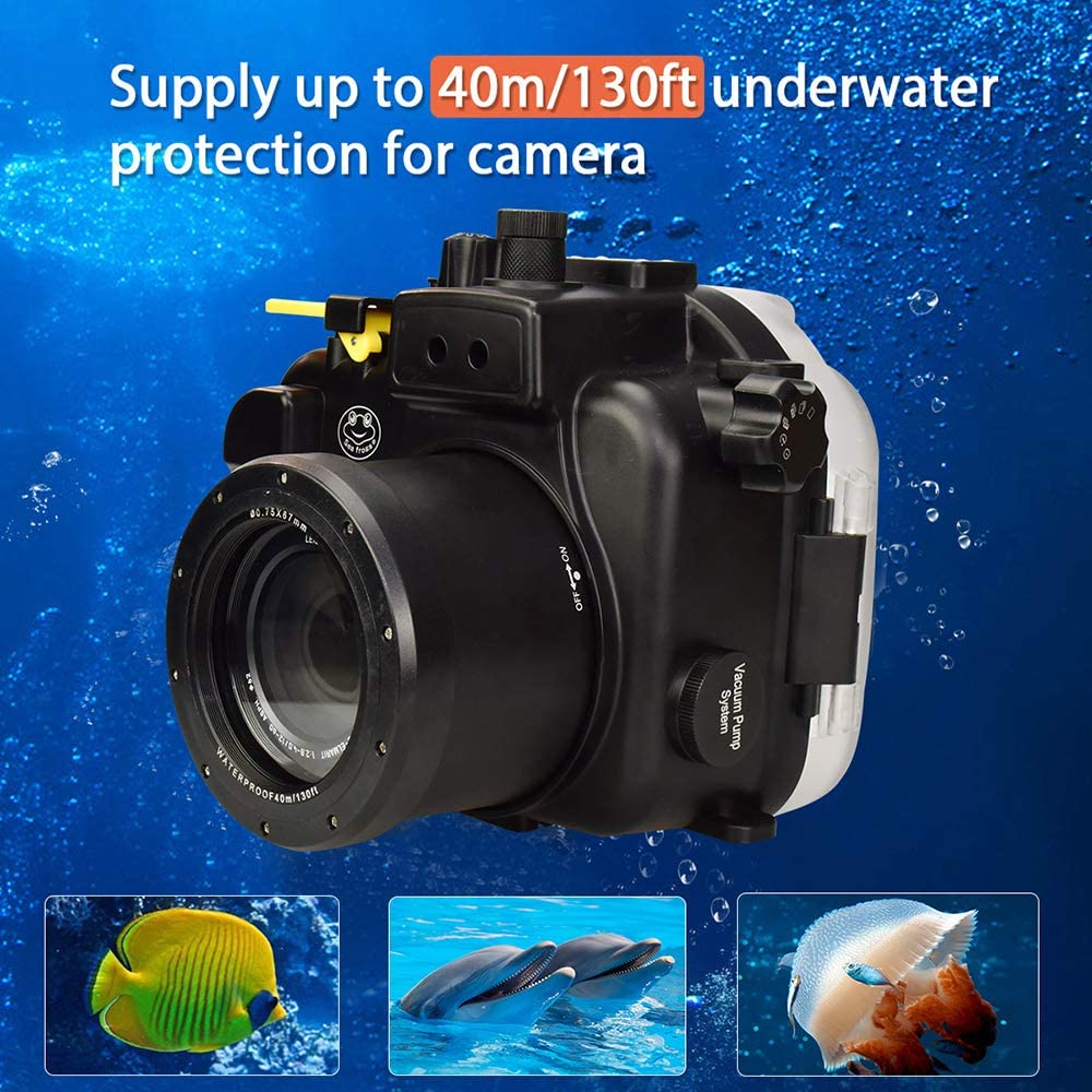 Underwater Sport Camera Case Waterproof Housing for Panasonic GH5 ...