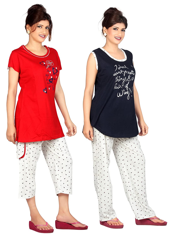 524f6dcb9274a4 Buy Carrel Cotton Hosiery Fabric Printed Women Top