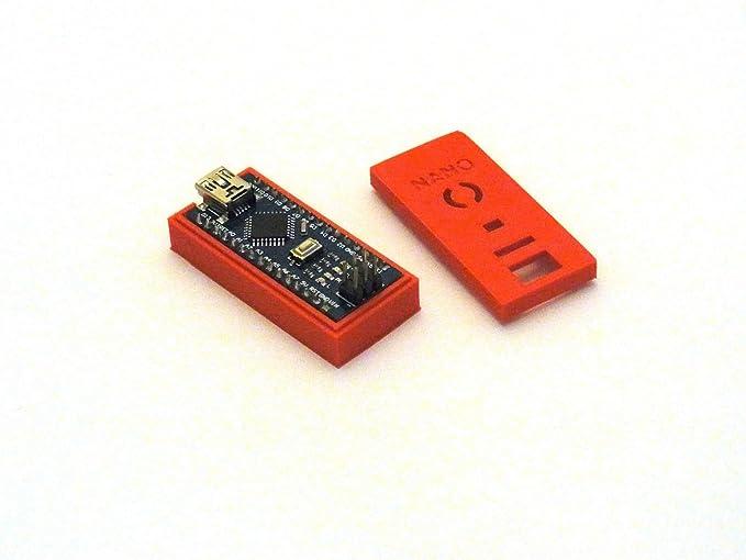 Arduino Carcasa/Case/Housing – para Arduino Nano V3 – Red: Amazon ...