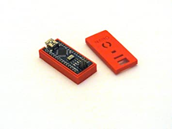 Arduino Carcasa/Case/Housing - para Arduino Nano V3 - Red ...
