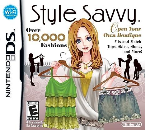 Amazon Com Style Savvy Nintendo Ds Video Games
