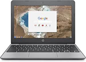 HP Chromebook 4GB RAM, 16GB eMMC with Chrome OS, Black