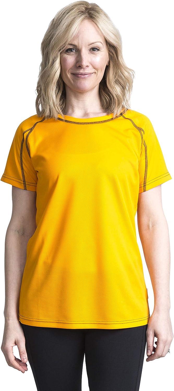 Parabler Damen atmungsaktive Funktionelle Sport Training Fitness T-Shirt Kurzarm V-Ausschnitt Laufhemd Yoga Top Loose Fit Laufshirt f/ür Frauen