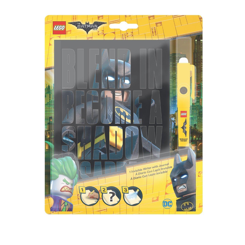 Lego 51738 - Notizbuch mit Geheimstift, Batman Movie IQ