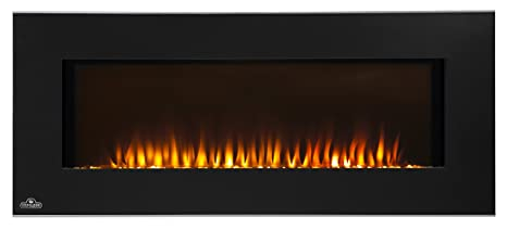 Strange Napoleon Efl42H Linear Wall Mount Electric Fireplace 42 Inch Interior Design Ideas Greaswefileorg