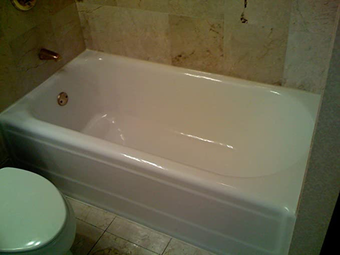 Amazon.com: AquaFinish 32 oz Bathtub Refinishing Kit, COATING ONLY ...