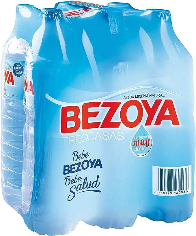 Bezoya - Agua Mineral Natural - Pack 6 x 1.5 L: Amazon.es ...