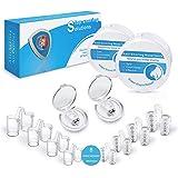 Anti Schnarch Schnarchstopper und Nasenspreizer, Verbessertes Konzept Premium Anti Schnarch Mittel Nasendilatatoren mit Antibakterieller und Praktischer Aufbewahrungsbox (8+2 Stück)