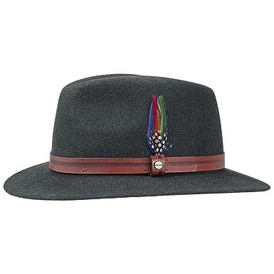 92f22b4bee2cd Stetson Rodgers Traveller Wool Felt Hat Men at Amazon Men s Clothing store