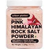 Urban Platter Pink Himalayan Rock Salt Powder Jar, 1.25kg
