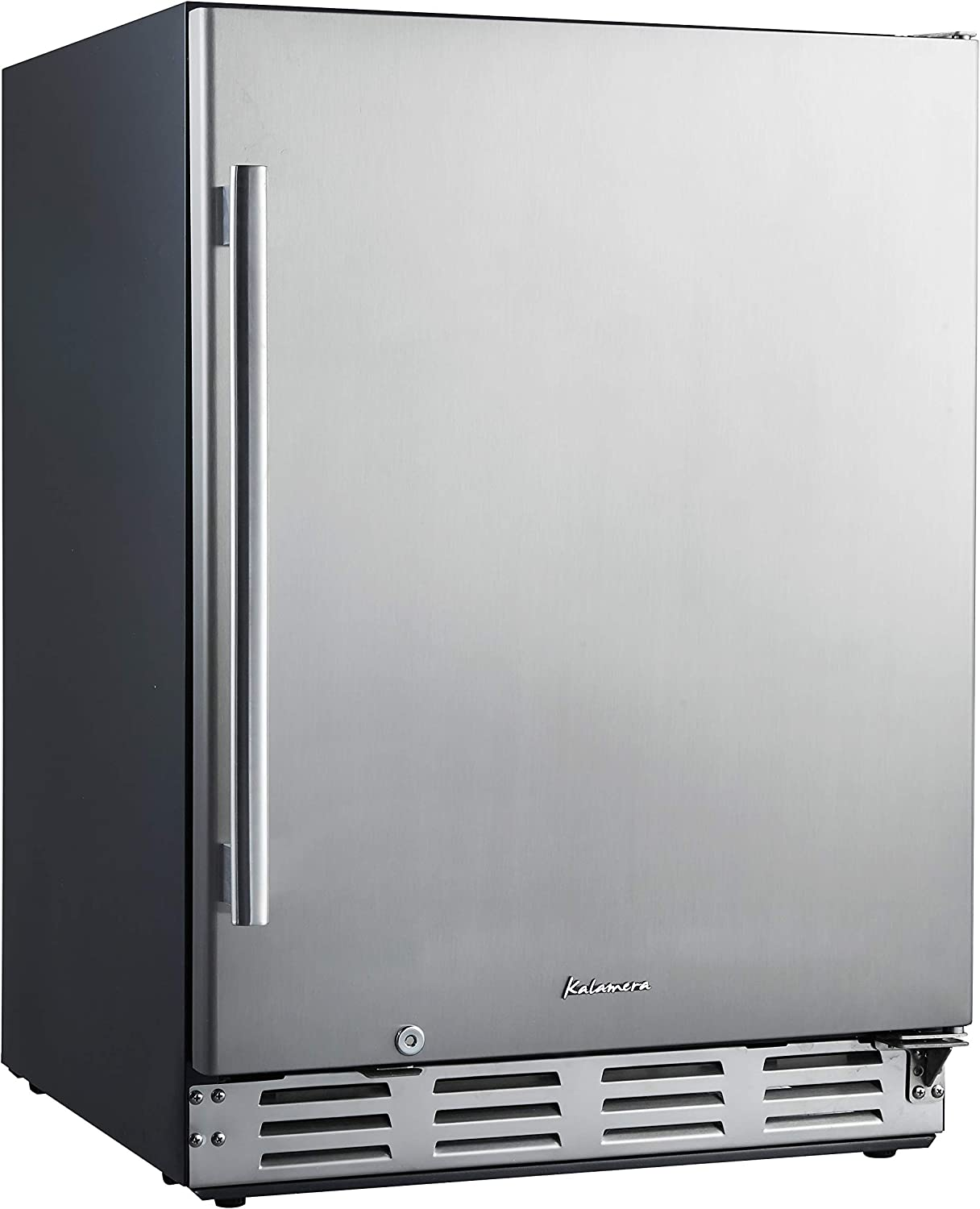 "Kalamera 24"" Stainless Steel Beverage Cooler - Soda and Beer Refrigerator - Drinks Fridge for Home and Commercial Use"