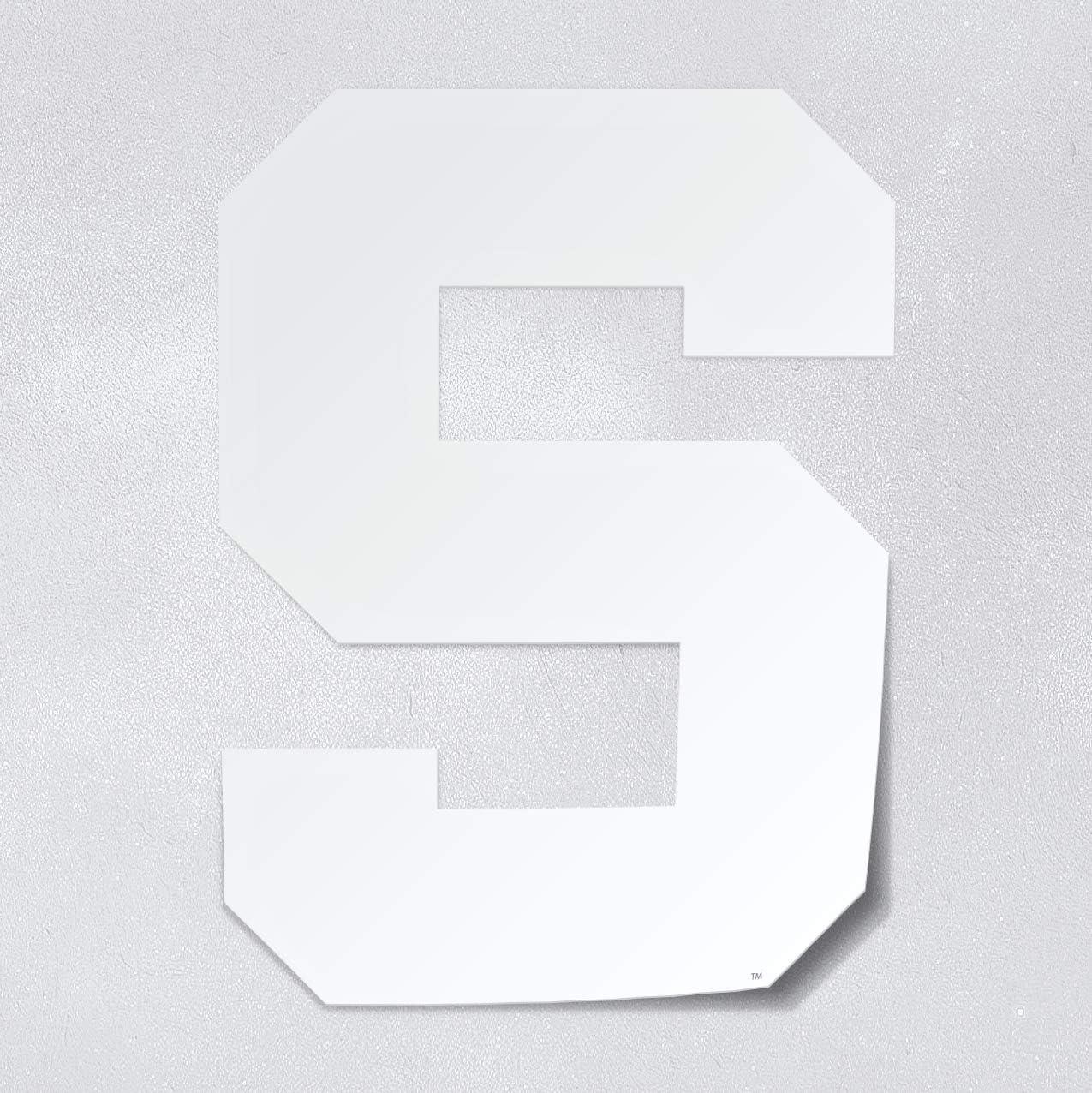 Nudge Printing Michigan State University Spartans Block S Logo Car Decal Bumper Sticker Laptop Sticker