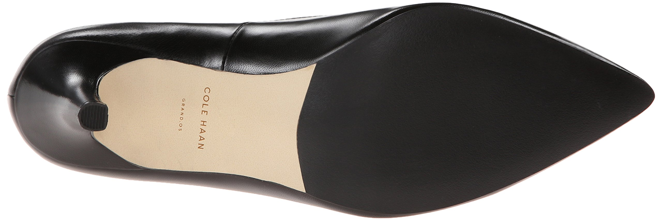 Cole Haan Women's Juliana Pump 75,Black Leather,8.5  B US by Cole Haan (Image #3)