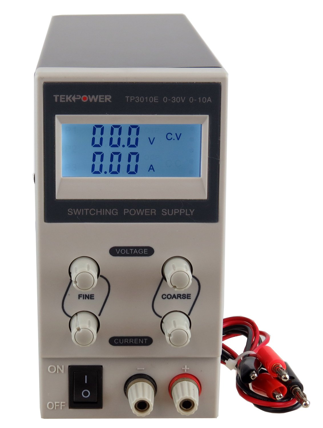TekPower TP3010E DC Adjustable Switching Power Supply 30V 10A Digital Display