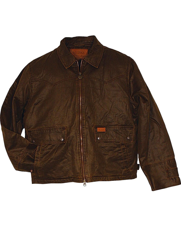 Outback Trading Co Men's CO. landsman Jacket Brown Large