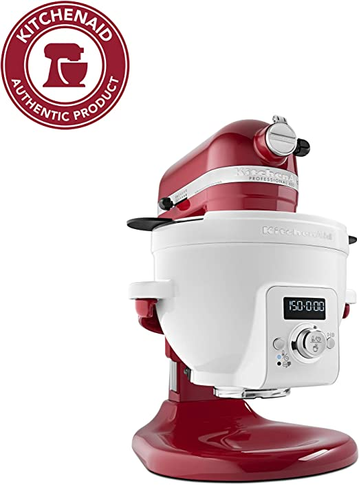 Amazon.com: KitchenAid KSM1CBL Mezcladora con bowl ...
