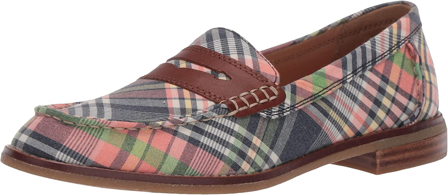 Seaport Penny Washed Plaid Loafer