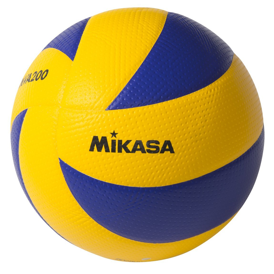 Mikasa MVA200  2008(Beijing), 2012(London), and 2016(Rio) indoor Olympic Games Ball (Blue/Yellow) by Mikasa Sports