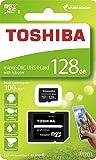 128GB microSDXCカード マイクロSD TOSHIBA 東芝 CLASS10 UHS-I R:100MB/s SDアダプター付 海外リテール THN-M203K1280A2