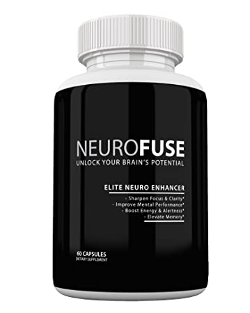 Amazon Com Neurofuse Powerful Focus Memory Nootropic Pill