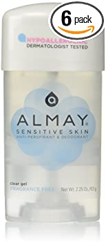Almay Sensitive skin Clear Gel, Anti-Perspirant & Deodorant