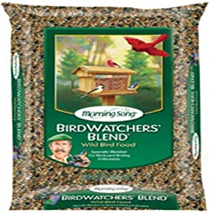 Morning Song 11957 Birdwatchers Blend Wild Bird Food, 8-Pound, 8 lb, Brown/A