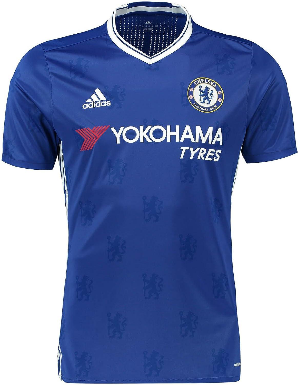 detailed look 872a5 f89c1 Amazon.com: Adidas Chelsea FC No. 10 Eden Hazard Men's Home ...