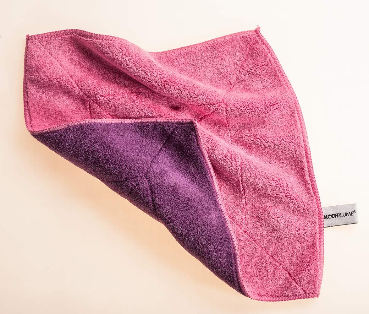 Brosse /à Vaisselle 31 cm Rouge Kochblume Chiffon Microfibre
