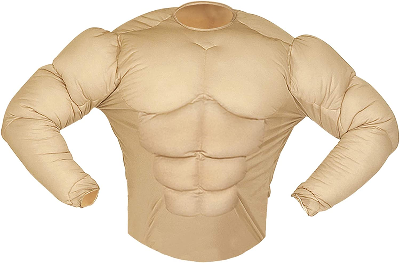WIDMANN Aptafêtes ? Disfraz de Camisa Monsieur Muscle: Amazon.es: Juguetes y juegos