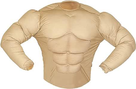 WIDMANN Aptafêtes ? Disfraz de camisa Monsieur Muscle: Amazon.es ...