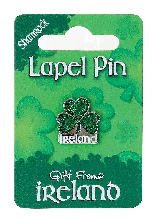 Gift from Ireland Pin - Shamrock Ireland - Glitter