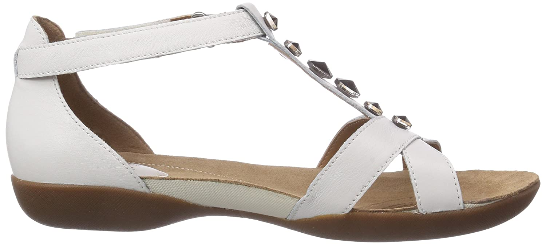 bb9316dd0 Clarks Women s Raffi Scent Open Toe Sandals White Size  42 EU (8 UK)   Amazon.co.uk  Shoes   Bags