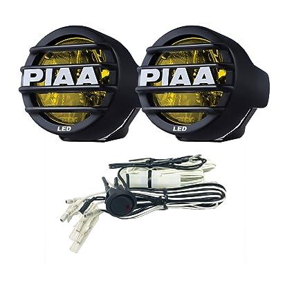 amazon com piaa 22 05372 lp530 yellow 3 5 led ion driving light rh amazon com LED Light Harness Off-Road Light Wiring Harness