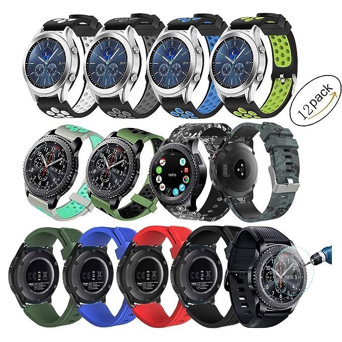 Samsung Gear S3 Frontier/Classic - Correa de Reloj de ...
