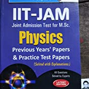 Buy IIT-JAM: M Sc  (Physics) Previous Papers & Practice Test