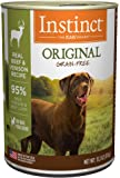 Instinct Original Grain Free Recipe Natural Wet Canned Dog Food By Nature'S Variety Venison