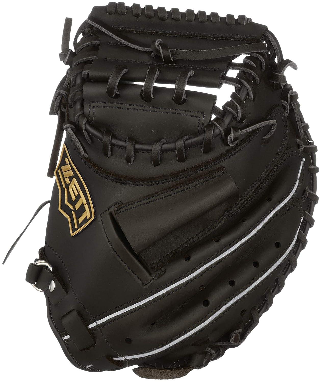 ZETT(ゼット) 少年野球 軟式 グランドヒーロー キャッチャーミット 新軟式ボール対応 右投げ/左投げ用 BJCB72912 B07K3CS6ZG ブラック