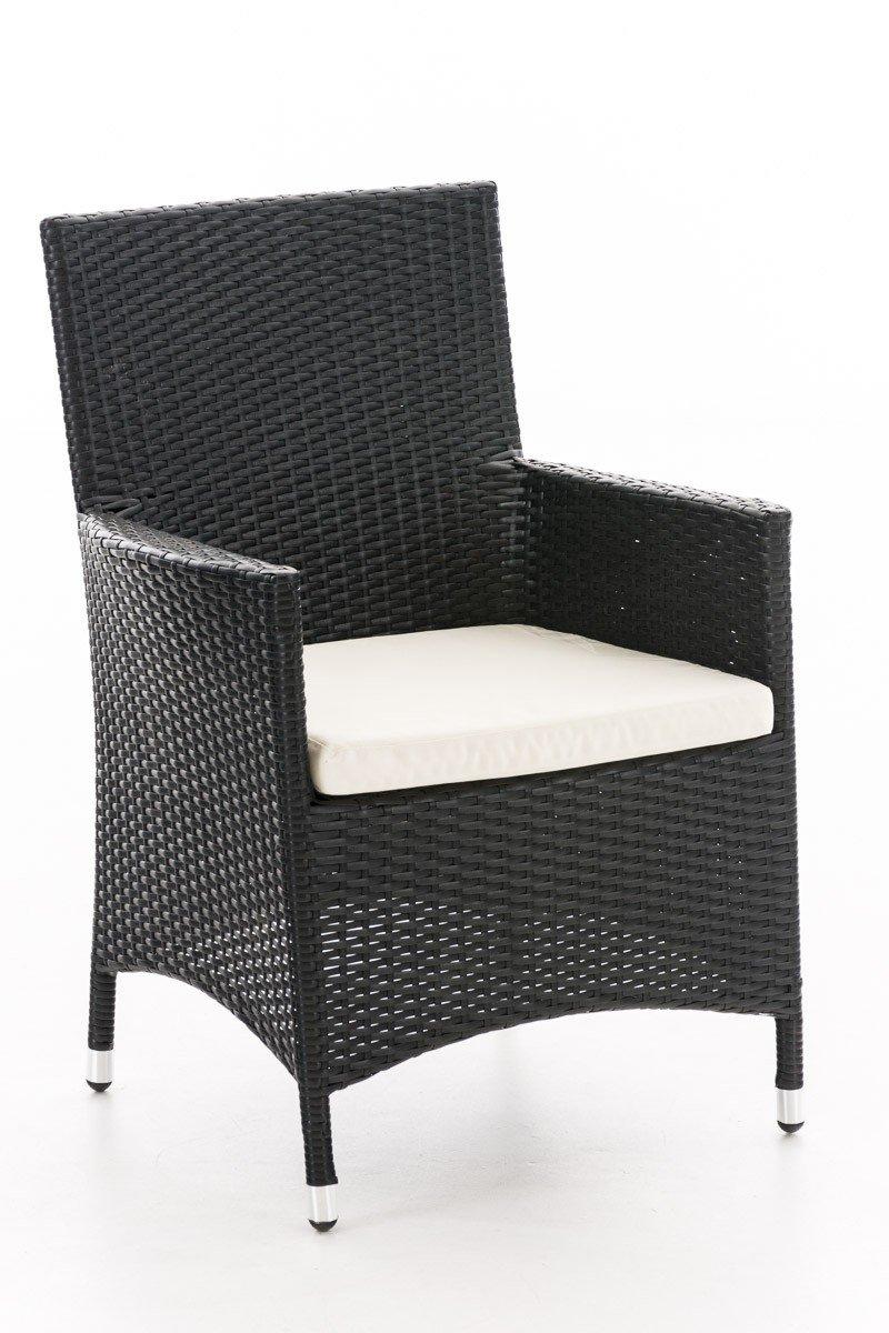 Rattan-Sessel für den Garten; bequeme Sitzgelegenheit im Freien ...