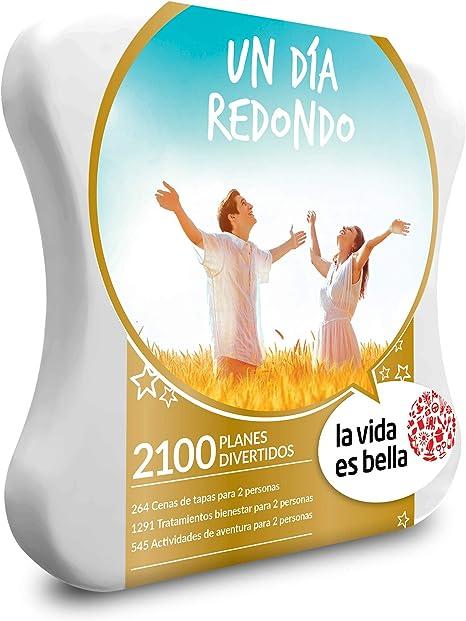 LA VIDA ES BELLA - Caja Regalo - UN DÍA REDONDO - 2100 planes divertidos: Amazon.es: Deportes y aire libre