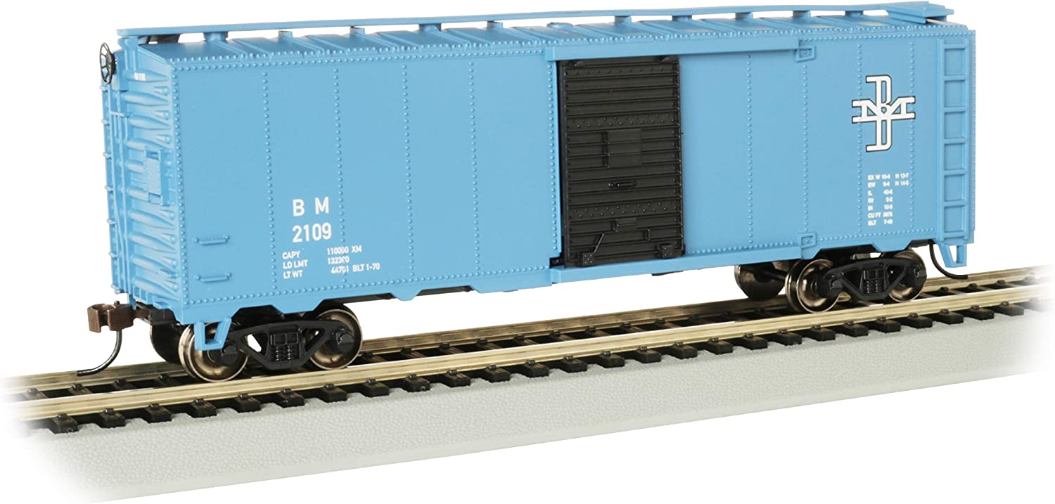HO Scale Train Bachmann Industries Boston /& Maine #C-120 Northeast Steel Caboose