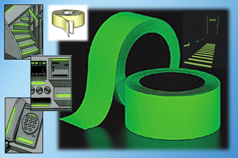 Genius ideas R 016250 Sicherheits-Leuchtband 2 m