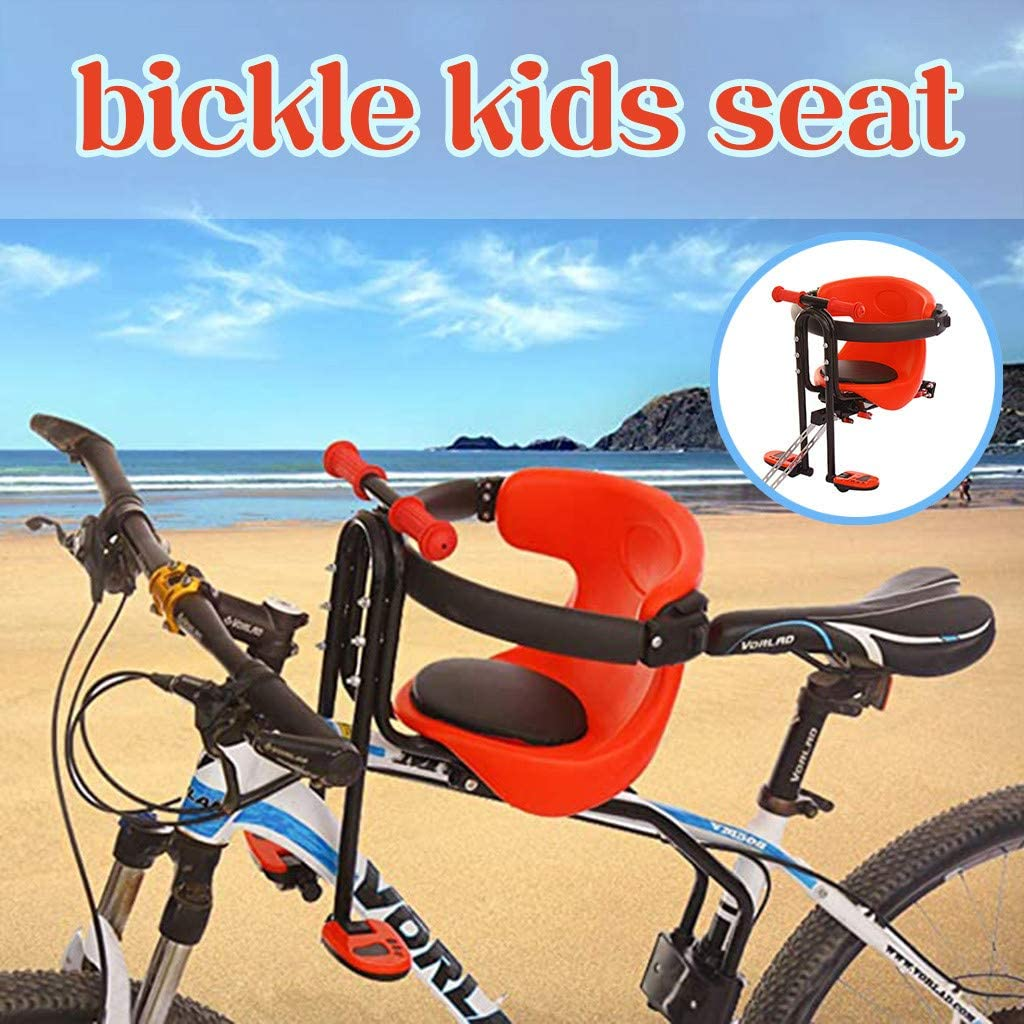 Bike Seat for Toddler, Safety Stable Baby Child Kids Bicycle Bike Front Seat Chair Carrier Sport Seats
