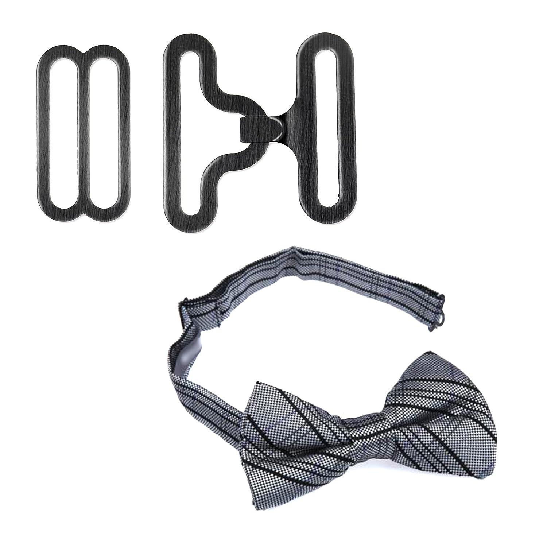 50 juegos DIY lazo correa de Hardware para cuello corbata Clips de ...