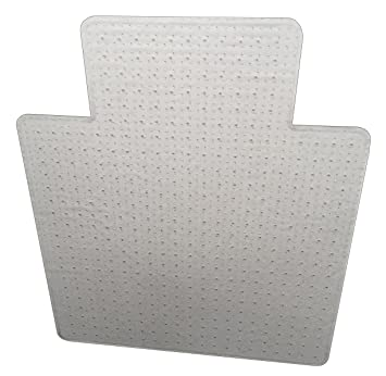 Heavy Duty 127002SLRV Vented/Aerated Single Lip Chair Mat With Beveled  Edges And Rounded Corners
