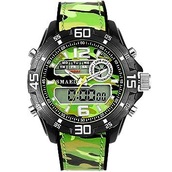Blisfille Relojes Junior Deportivos Reloj Acero Negro Mujer Reloj para Rellenar Relojes Extraplanos Hombre Reloj Hombre Deportivo: Amazon.es: Deportes y ...