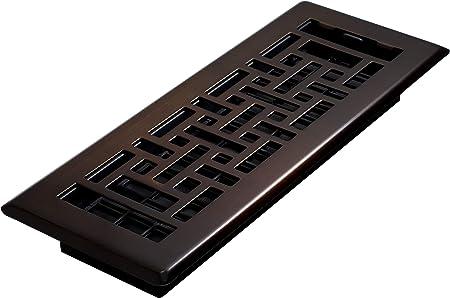 Decor Grates AJH310,RB Floor Register, 3 x 10, Rubbed Bronze